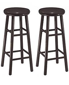 """Oakley 2-Piece 30"""" Swivel Seat Bar Stool Set"""