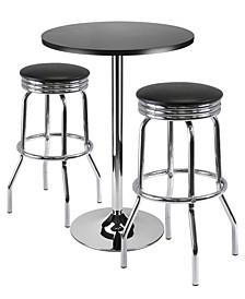Summit 3-Piece Bar Table Set