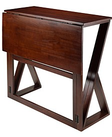 Wood Harrington Drop Leaf High Table