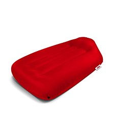 (RED) Lamzac Beanbag Chair, Quick Ship