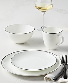 Black Line Dinnerware Collection, Created for Macy's
