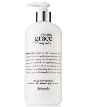 philosophy Amazing Grace Magnolia Firming Body Emulsion, 16-oz.