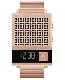 Nixon Unisex Dork Too Rose Gold-Tone Stainless Steel Bracelet Watch 38mm