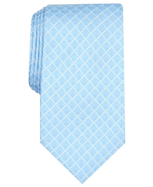 Perry Ellis Men's Kalin Grid Tie