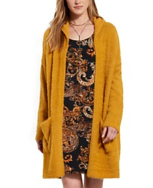 Karen Kane Long Hooded Cardigan