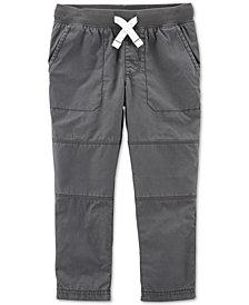 Carter's Toddler Boys Cotton Elastic Waist Pants