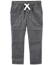 Carter's Toddler Boys Cotton Elastic Waist Pants
