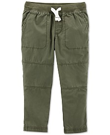 Carter's Toddler Boys Cotton Drawstring Pants