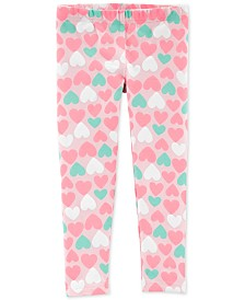 Carter's Toddler Girls Heart-Print Leggings