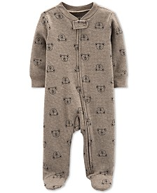 Carter's Baby Boys 1-Pc. Koala-Print Cotton Footed Pajamas