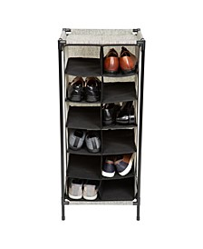 12 Section Shoe Organizer