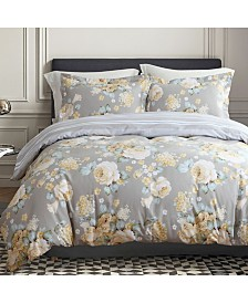 California Design Den Cotton 3-Piece Duvet Cover Set, King