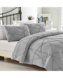 California Design Den Cotton 2-Piece Quilt Set, Twin/Twin XL