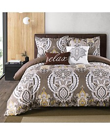 California Design Den 5-Piece Down Alternative Comforter Set, King