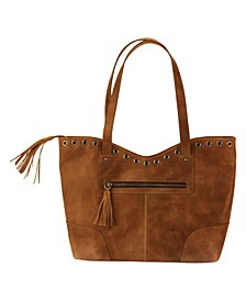 Hadaki Grommet Leather Tote