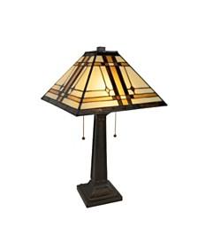 Lavish Home Tiffany Style Table Lamp