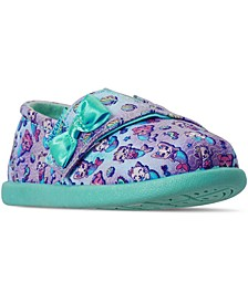 Toddler Girls Lil' BOB Slip-On Stay-Put Closure Casual Sneakers from Finish Line