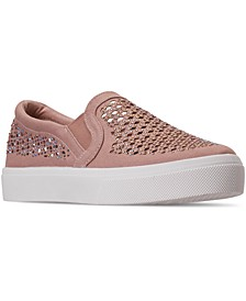 Women's Street Poppy Slip-On Casual Sneakers from Finish Line