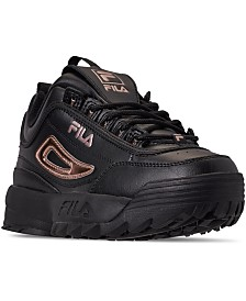 Fila Women's Disruptor II Metallic Casual Athletic Sneakers from Finish Line