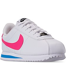 Little Girls Cortez Basic SL Casual Sneakers from Finish Line