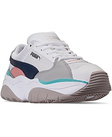 Women's STORM.Y Metallic Casual Sneakers from Finish Line