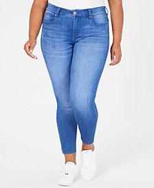Celebrity Pink Trendy Plus Size Skinny Ankle Jeans