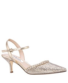 Nina Buena Sling Back Pumps