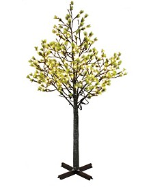 International 7.5 ft. Artificial Tree with 720 White LED Lights