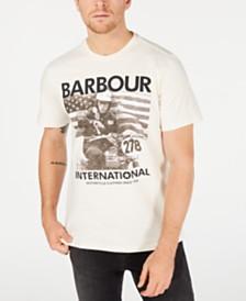 Barbour International Steve McQueen Men's  278 T-Shirt, Created For Macy's