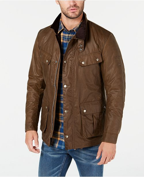 size 7 select for official first rate International Steve McQueen Men's Duke Wax Jacket, Created For Macy's