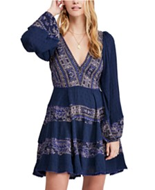 Free People My Love Mini Dress