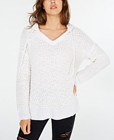 Juniors' Hooded Sweater, Created for Macy's