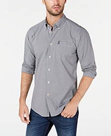 Men's Tailored Gingham Shirt