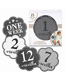 Milestone Card Set, 1-15 Months
