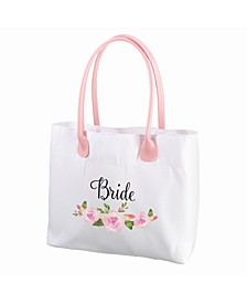 Floral Bride Tote Bag