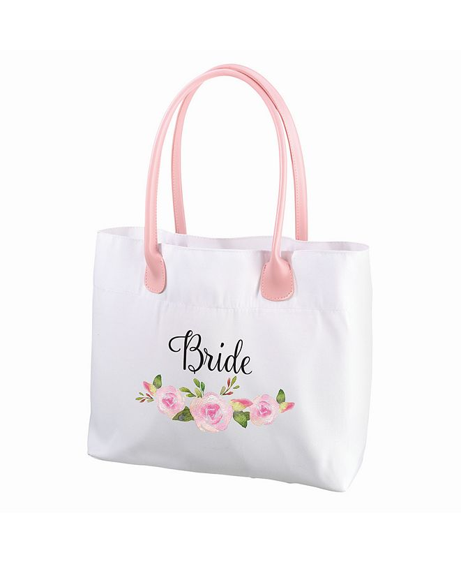 Lillian Rose Floral Bride Tote Bag