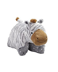 Pillow Pets Naturally Comfy Zebra Plush Stuffed Animal Plush Toy