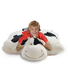 Pillow Pets Signature Jumboz Cozy Cow Oversized Stuffed Animal Plush Toy