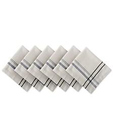 French Stripe Napkin, Set of 6
