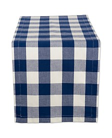 "Buffalo Check Table Runner 14"" x 108"""