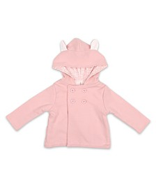 The Peanutshell Baby Girl Bunny Jacket