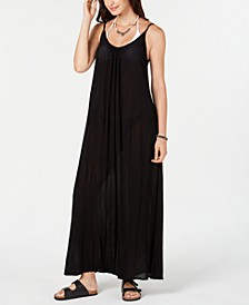 Sleeveless Cover-Up Maxi Dress