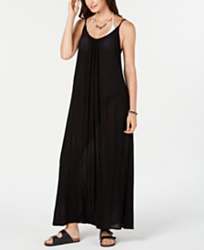 Raviya Sleeveless Cover-Up Maxi Dress