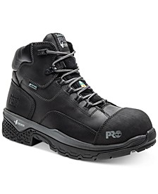 Men's Waterproof Composite-Toe Work Boots