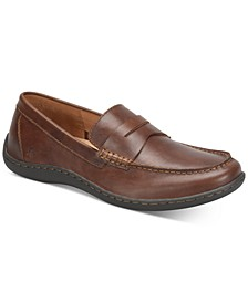 Men's Simon Moc-Toe Slip-on Loafers