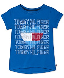 Tommy Hilfiger Baby Girls Heart-Print Cotton T-Shirt