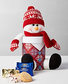 Plush Animated Snowman Gift Set