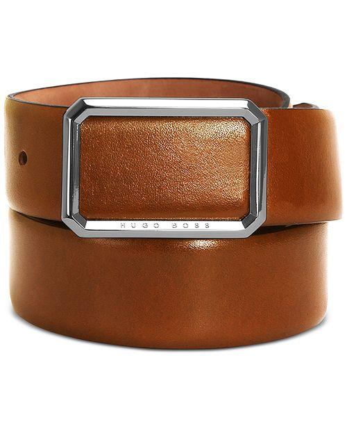 Hugo Boss HUGO Men's Ereso Leather Belt