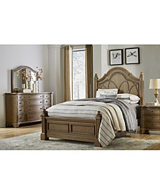 Trisha Yearwood Jasper County Panel Bed  Stately Brown Collection