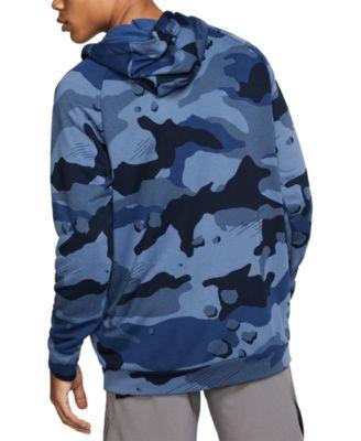 camo blue hoodie
